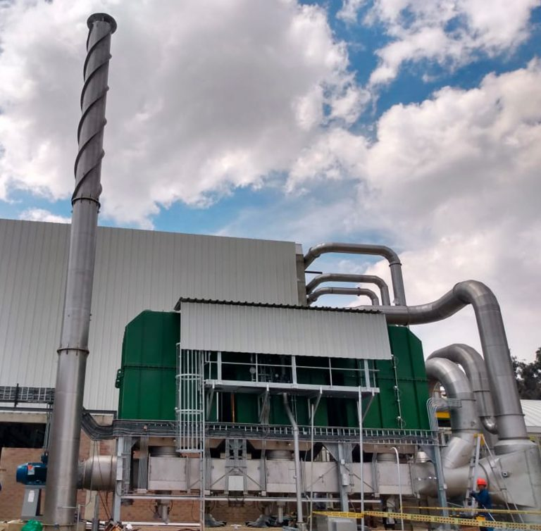 Regenerative Oxidizer already operates in Bogotá