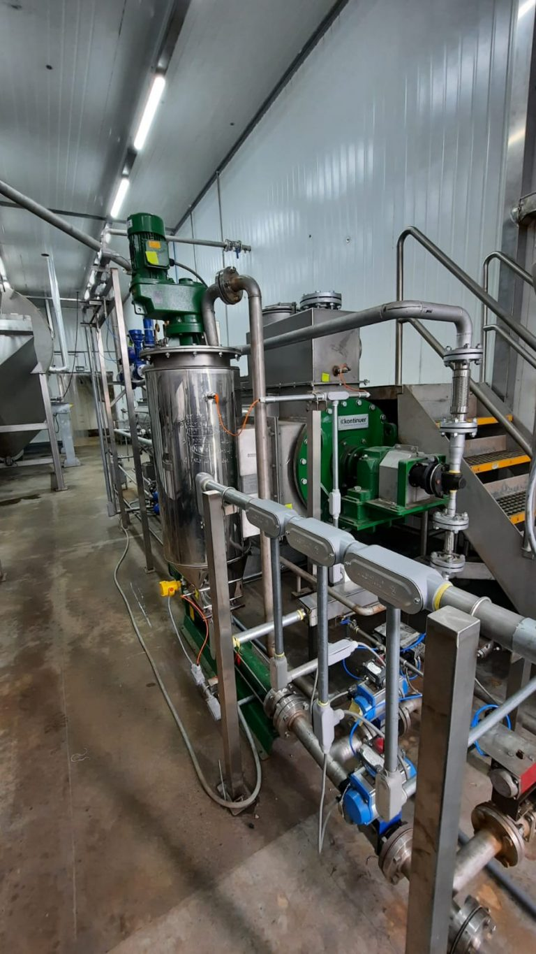Kontinuer/Oestergaard starts up trout oil plant