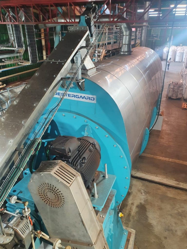 Continuous Fish Waste Plant